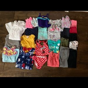 25 piece bundle of girls 3T/4T clothes .